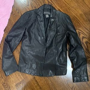 Banana Republic 100% Genuine Leather Size 0